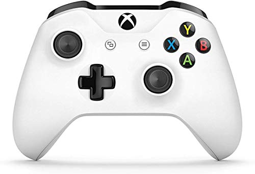 Microsoft - Mando Inalámbrico, Blanco (PC, Xbox One S)