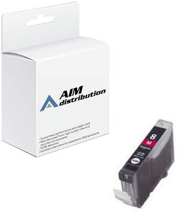 AIM Compatible Replacement for Canon CLI-8M Magenta Inkjet (280 Page Yield) - Generic
