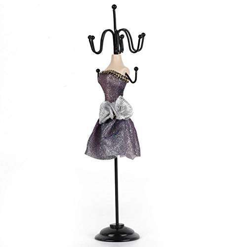 Soporte de exhibición elegante de la joyería del aspecto, conveniente para sostener las joyerías(Small model)