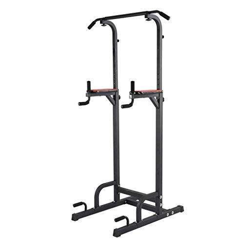YLJYJ Squat Rack Gewichtheber-Käfig, Kniebeugenständer, verstellbare Höhe, Klimmzug- und Dip-Station, multifunktional, für Zuhause, Krafttraining, Fitness, Workout, Power Cages S