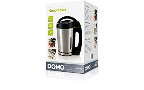 Domo DO498BL Suppenkocher, Rostfreies Metall, 1.6 liters
