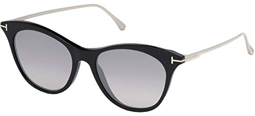 Tom Ford Sonnenbrillen MICAELA FT 0662 SHINY BLACK/GREY Unisex