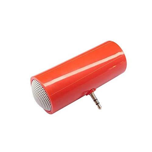 Draagbare luidspreker voor mobiele telefoon Jack kleurrijk, Rood