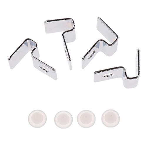 joyMerit 4X Supporto per Coperchio Acquario Clip per Acquario Supporto per Coperchio Acciaio Inossidabile 5/8/12 / 19mm - 5MM