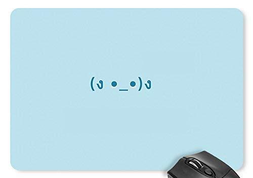 Mausmatte minimalistic blue smileys mauspad