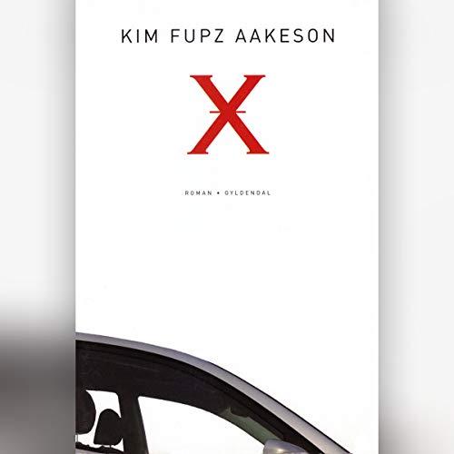 X audiobook cover art