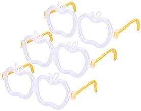 TOYMYTOY 30pcs Glow Glasses Light Up Glasses Toy Apple Eyeglasses Glow Sticks Party Favors(No Fluorescent Sticks)