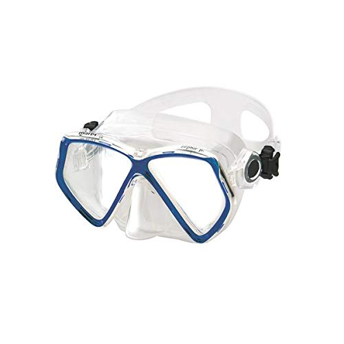 Mares Kinder Mask ZEPHIR JR. Taucherbrille, Blau, One Size