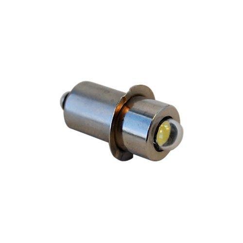 HQRP high power 3W LED Ersatzbirne 100LM 7-30V für Makita: 192546-1/A-90261/A-90233; ML902/ML702/ML120/ML180 Taschenlampe