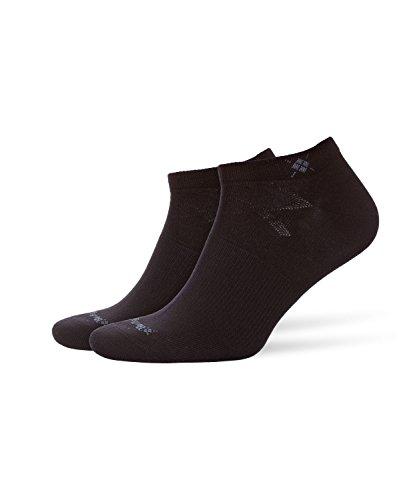 BURLINGTON Herren Sneakersocken Everyday 2-Pack - Baumwollmischung, 2 Paar, Schwarz (Black 3000), Größe: 40-46