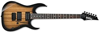 Ibanez GRG 6 String Solid-Body Electric Guitar, Right, Natural Gray Burst, Full (GRG120ZWNGT)