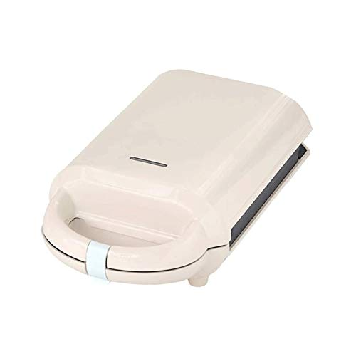 Sdesign Máquina de sándwich Máquina de Desayuno Máquina de Comida Ligera para el hogar Máquina de Waffle Maker Multifunción Calefacción Tostado Tostador de presión (Color : Gray)