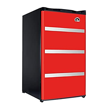 Igloo FR329-Red Garage Fridge Tool Box, 3.2 Cubic Feet, Red