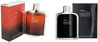 Set of 2 Pieces Jaguar Classic Red EDT 100ml With Classic Black by Jaguar for Men - EDT, 100ml