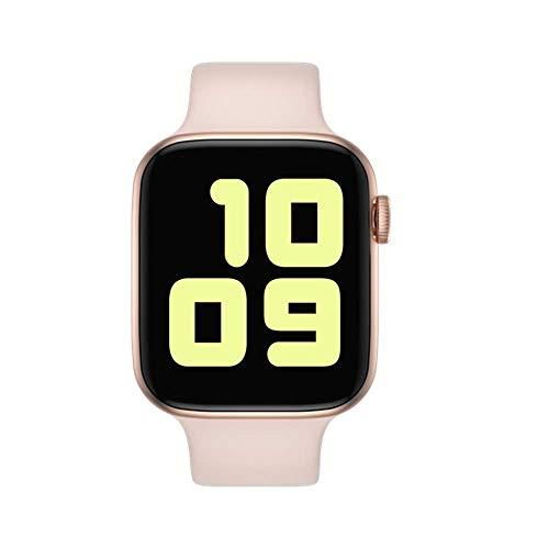 YDHWWSH Smartwatch Smartwatch Wechseluhrarmband Serie Smartwatch Herzfrequenz Blutdruck Sportuhr Für Ios Android Wie abgebildet 5 Roségold-Pink-Set
