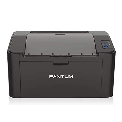 Pantum Small Monochrome Wireless Laser Printer Black and White Printing-P2500W, Compact