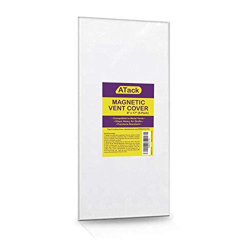 ATack - Cubierta magnética de ventilación de grado industrial para rejillas de ventilación de suelo y laterales, para caravanas de...