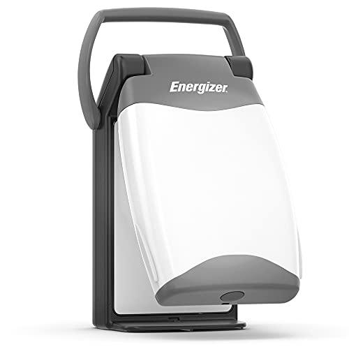 Energizer Emergency Folding LED Lantern, Black, 500 Lumens, IPX4 Water Resistant, Portable LED Light, Durable Emergency Lantern