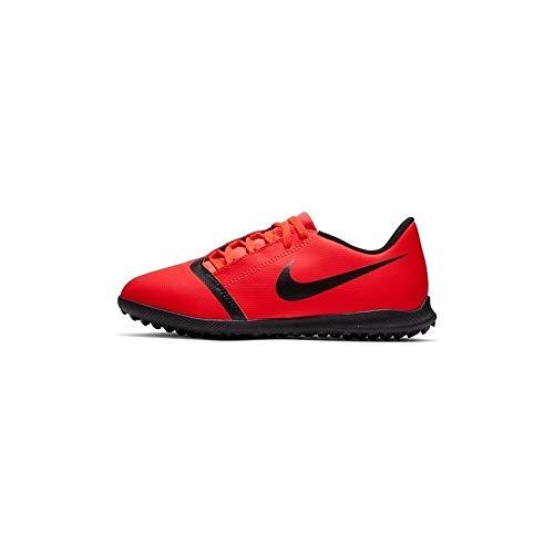 Nike Jungen JR Phantom Venom Club TF Fußballschuhe, Mehrfarbig (Bright Crimson/Black-Bright Crimson 600), 35.5 EU