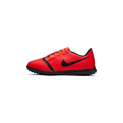 Nike Jungen JR Phantom Venom Club TF Fußballschuhe, Mehrfarbig (Bright Crimson/Black-Bright Crimson 600), 38 EU