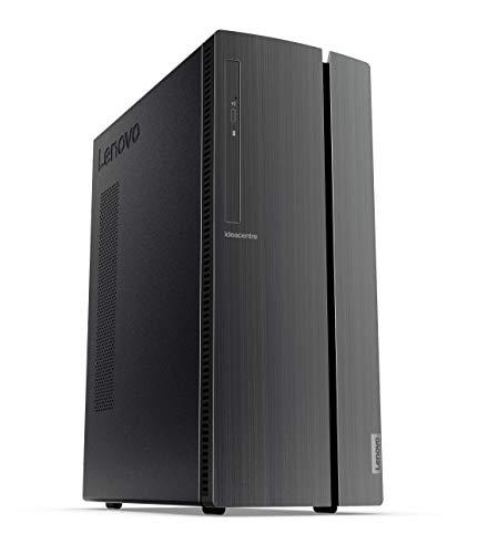Lenovo IdeaCentre 510A - Ordenador de sobremesa, Procesador AMD Ryzen 5 3400G, 512GB SSD, RAM 8GB Integrated AMD Radeon RX Vega 11 Graphics, ratón+Teclado USB QWERTY Português, Windows 10, Negro