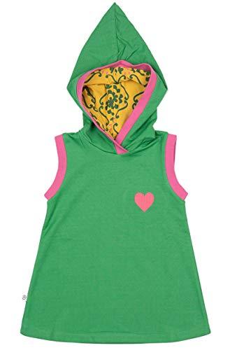Alba Baby Girl ärmeloses Kleid Trine Hood Dress