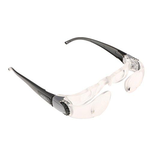 freneci 2x Universal Hyperopia TV Brille Lesebrille für LG TV & More