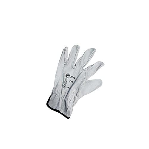 Euro Protection Gants Pleine Fleur Blanc Taille XL/10 EP 2240