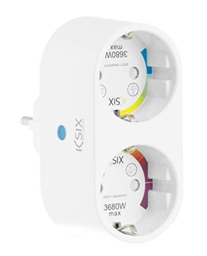 Ksix Enchufe Inteligente Energy Duo