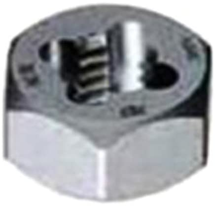 Gyros 92-92512 Carbon Steel Hex Rethreading Die 2-5//8-12  TPI