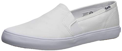 Solid White Ladies Shoe - 5