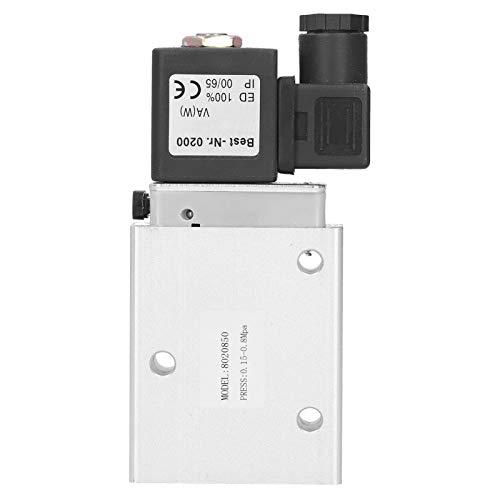 Válvula solenoide eléctrica 8020850 Peso ligero para medios de flujo grande para -5~50 ℃(AC220V)