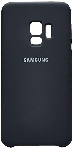 Capa Silicone Galaxy S9, Samsung, Capa Protetora para Celular, Preta