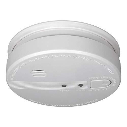 ELRO FS1105P Rauchwarnmelder - 230 Volt - verdrahtet vernetzbarer mit 5 Jahres Back-Up Batterie - EN14604:2005/AC:2008