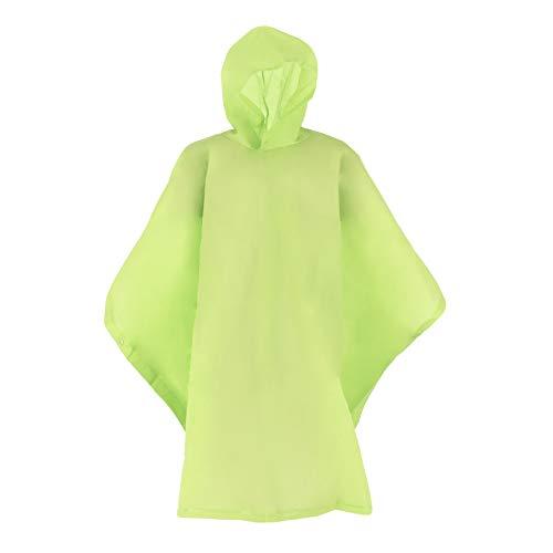 Totes Lime Green Children's Rain Poncho