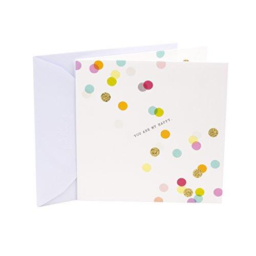 Hallmark Studio Ink Love Greeting Card (Colored Dots)