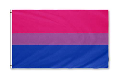Star Cluster 90 x 150 cm LGBT/Flagge der Bisexuellen/Bisexual Pride Flagge (Bisexual)