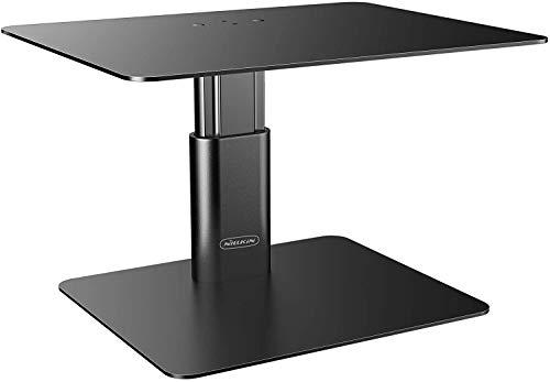 Nillkin Soporte elevador para monitor de escritorio, altura ajustable, soporte ordenador ergonómico, escritorio aluminio televisores, iMac, portátiles, MacBook Air/Pro, Dell, HP, Lenovo