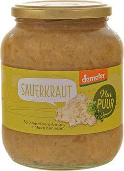 nur puur Bio Sauerkraut Demeter (6 x 680 gr)