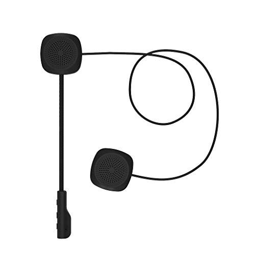 B Blesiya Casco Cable Suave Auriculares Micrófono Altavoz Motocicleta Bluetooth 5.0 NUEVO