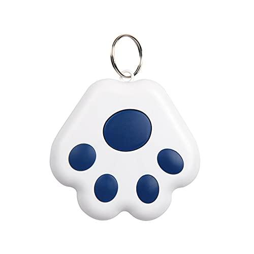 JAWSEU Mini GPS Locator Portachiavi Wireless Tracker, Localizzatore GPS per Cani, Localizzatore GPS per Animali Domestici, Bambini, Chiavi, Portafoglio