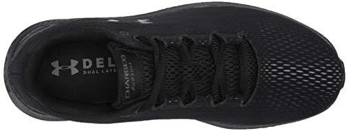 Under Armour Men's Charged Pursuit 2 Running Shoe, Black (003)/Black, 11 M US 3