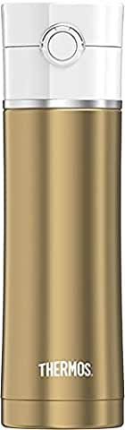 Thermos Sipp 16 Ounce Stainless Steel Hydration Bottle (Gold)