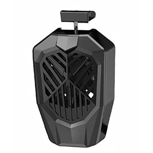 Wolfberrymetal Ventilador de refrigeración para teléfono móvil Ventilador de refrigeración Universal para teléfono móvil Radiador de Juego Refrigerador para teléfono móvil Disipador de Calor frío