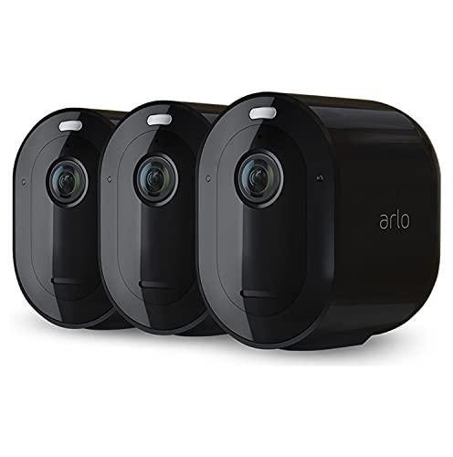 Arlo Pro4 Spotlight, 3 cámaras vigilancia con...