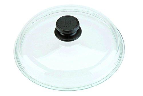 SKK 052 Glasdeckel, rund, 32 cm, passend für Aluguss-Kochgeschirr
