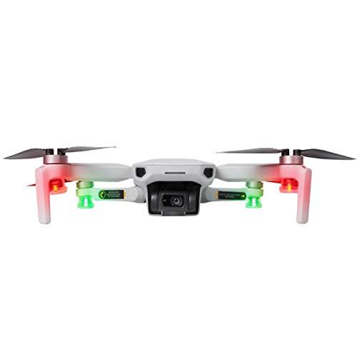 POHOVE Drone Flash estroboscópico lámpara para DJI Mavic Air/Pro, RC Drone Night Flight Warning Navigation Lights para Mini 2/Mavic Air 2 Mavic Pro/Spark