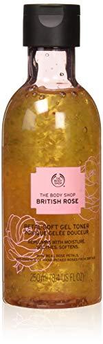The Body Shop British Rose Petal-Soft Gel Toner, 8.45 Fluid Ounce