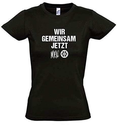 Bitex T-shirt actie WIR gemeenschappelijk SAM JETZT dames