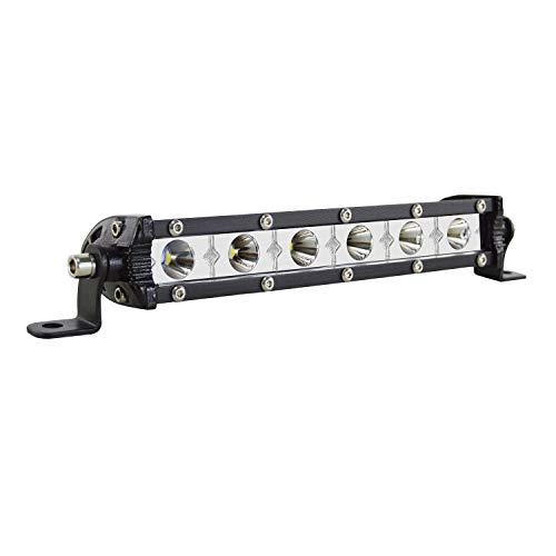 SKYWORLD LED Arbeitsscheinwerfer, 7 zoll 17.8 cm 30W Scheinwerfer Einreihig LED balken LED Offroad led lightbar 6000K Weiß IP67 Wasserdicht 12V 24V für Auto Boot LKW fahren SUV 4x4 4WD